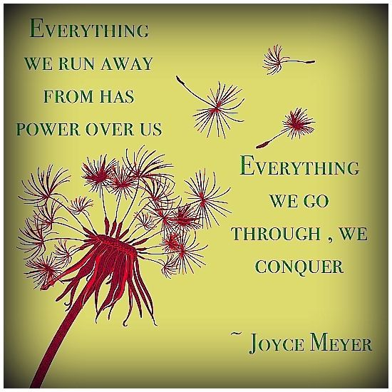 Captivating Inspirational Words From Joyce Meyer