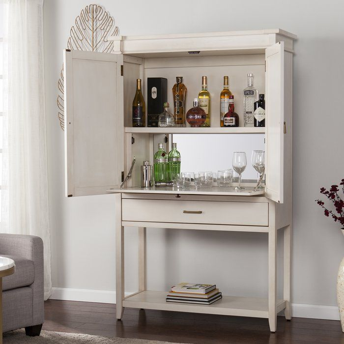Caseareo Fold Out Bar Cabinet In 2020 Wine Cabinets Bar