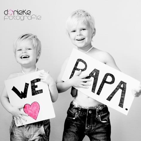 Foto vaderdag / fathers day photo