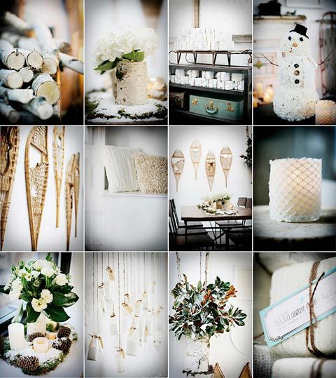 39 Best Images About Mariage Th Me Hiver On Pinterest Winter Wedding Ideas Winter Wedding