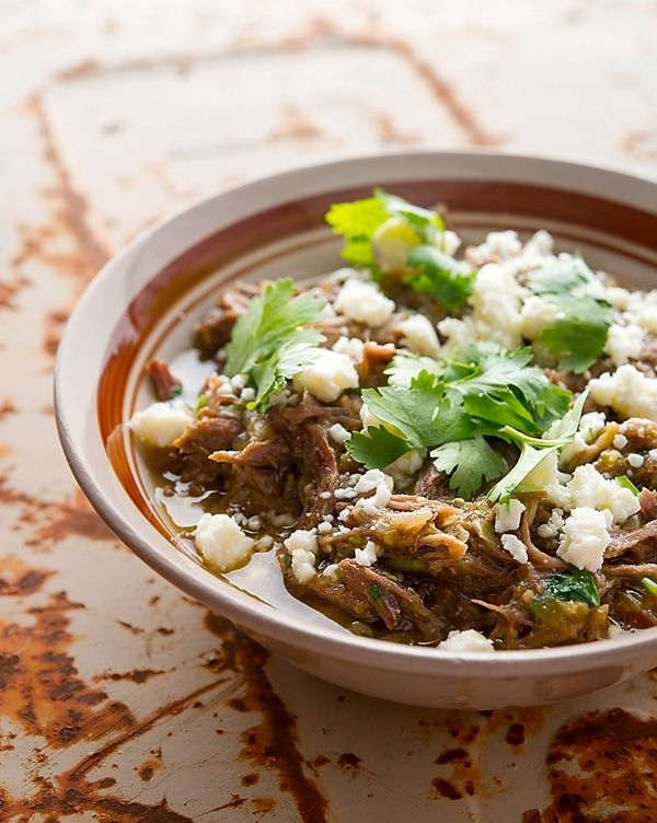 Classic Mexican chile verde, made with wild pork. You can use regular pork, turkey or chicken and it'll be just as good. Recipe from Hunter Angler Gardener Cook.