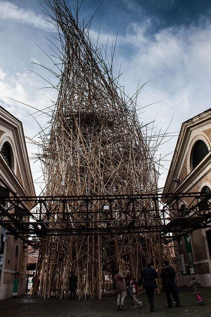 Big Bambu at Macro Testaccio museum in Rome