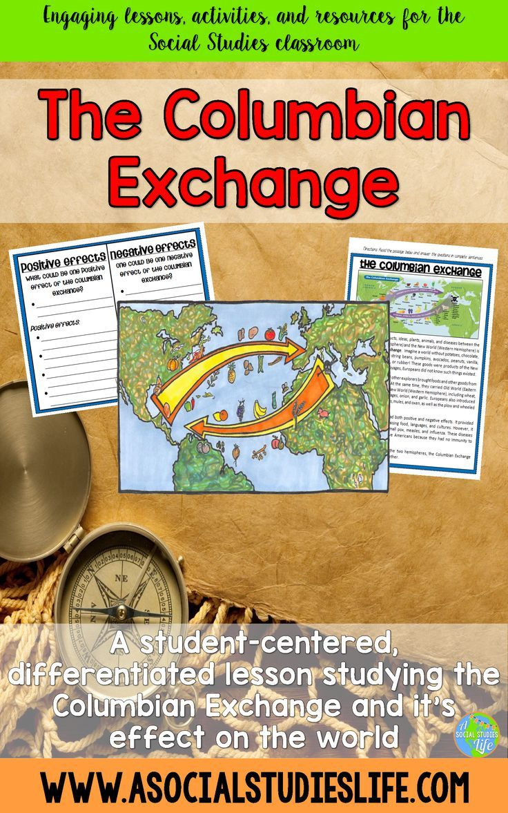 worksheet The Columbian Exchange And Global Trade Worksheet 50 best columbian exchange images on pinterest social science exchange