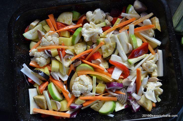 Preparare legume la cuptor la tava gratinate (1)