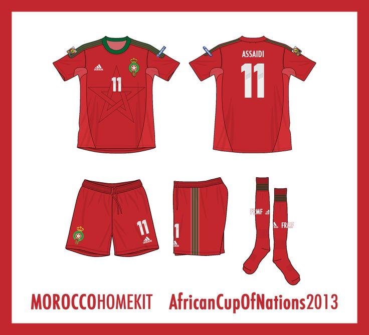 Morocco Home Kit 2013
