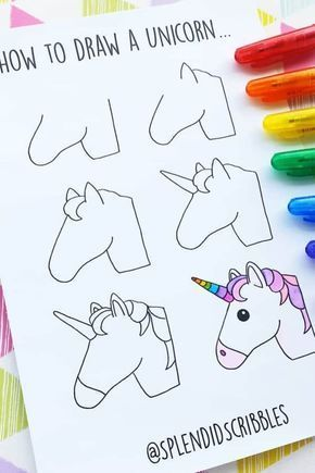 How cute is this unicorn bullet journal doodle!? 🦄 Check out the rest of the …