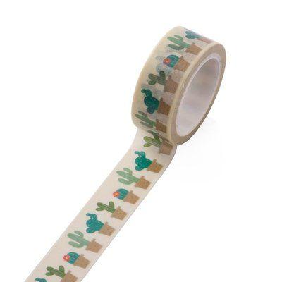 Washi Masking Tape   Cactus