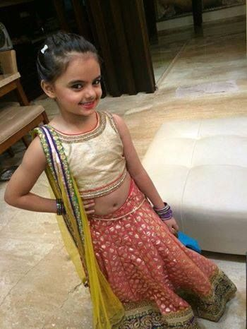 Ruhanika Dhawan Ready for Indian Telly Awards 2014