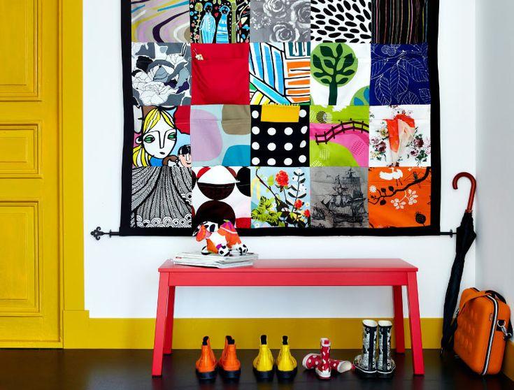 25 best ideas about ikea fabric on pinterest office - Muebles de entrada vintage ...