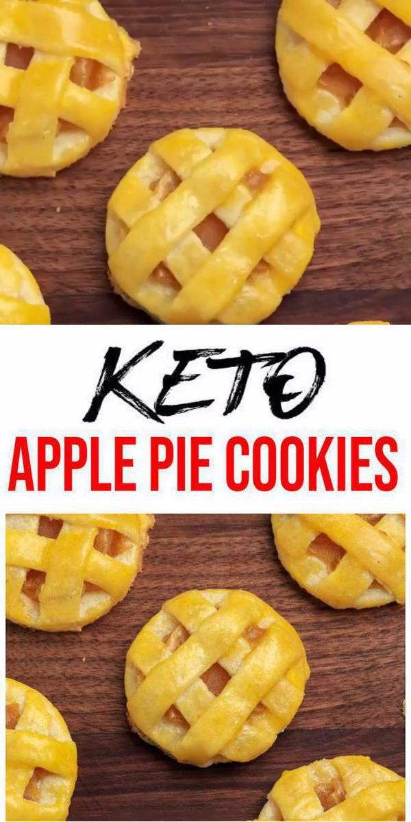 Keto Cookies – Super Yummy Low Carb Keto Apple Pie Cookies – Easy and Best Cookie Recipe For Ketogenic Diet