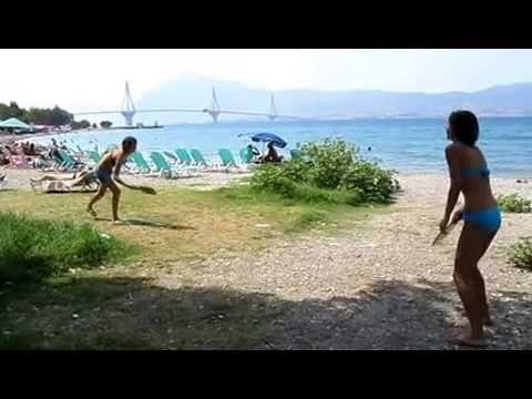 Rackets sport on the beach (Dark Hallway Kevin MacLeod)