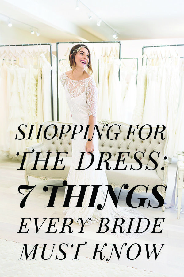 Everything you need to know about shopping for a wedding dress. We give you all the best tips and tricks to prepare you for wedding dress shopping.