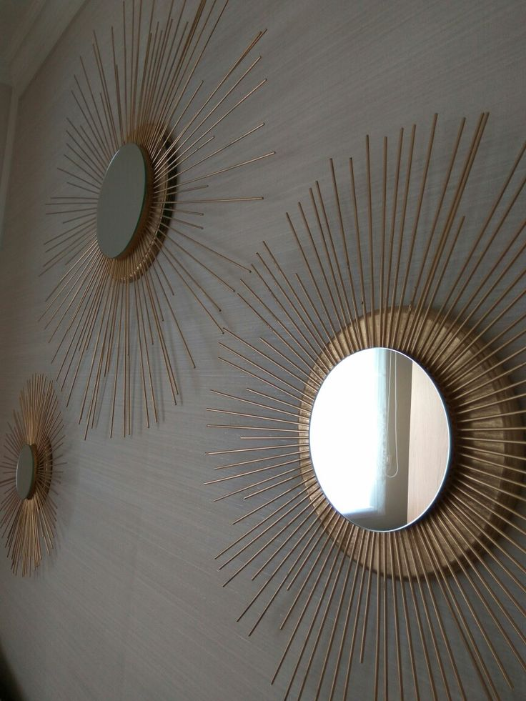Our handmade mirrors.
