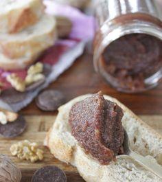 La ligne gourmande   Confiture de noix au chocolat