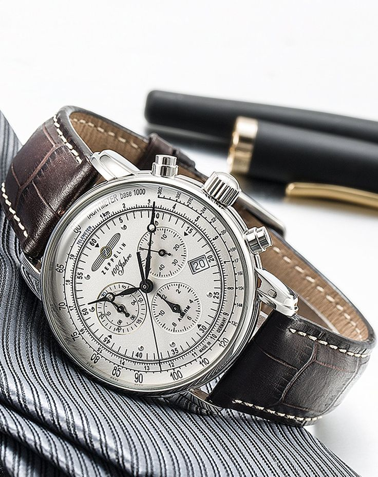 Amazon.com: Graf Zeppelin Chronograph and Alarm Watch 7680-1: Clothing
