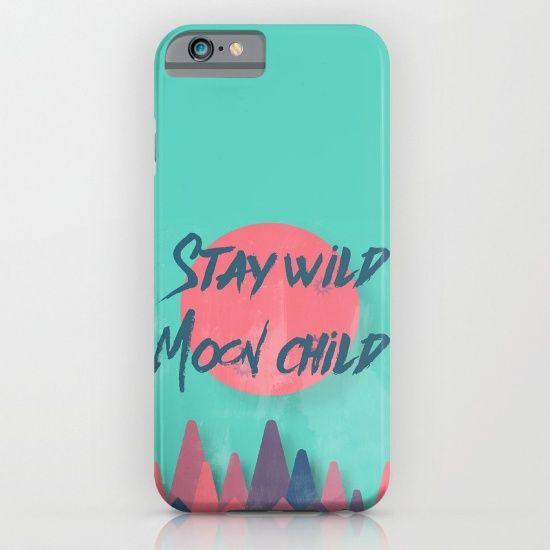 stay wild moon child, typography, retro, vintage...