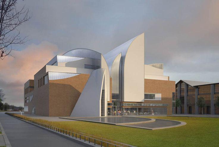 Construction D'un Conservatoire De Musique Et De Danse Avec Auditorium à Soissons