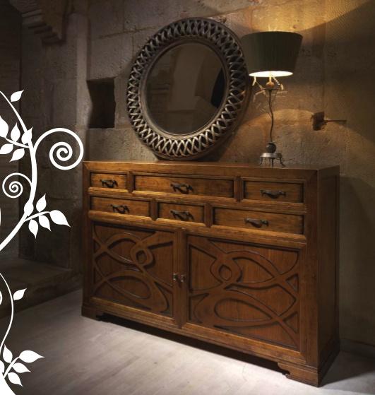 Испанская мебель ручной работы > Дизайнерская мебель > Коллекция Классика > Лола Гламур (Испания) Комод LG14071