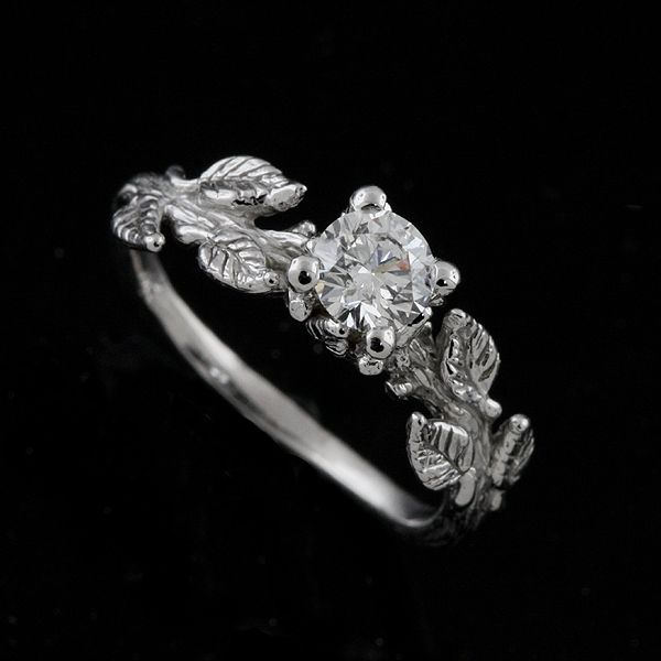 nature wedding rings best 20 leaf engagement ring ideas on simple 6099