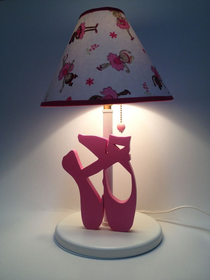 Lamp with ballet slippers. Designed by Under Ten CR. www.undertencr.net www.facebook.com/undertencr