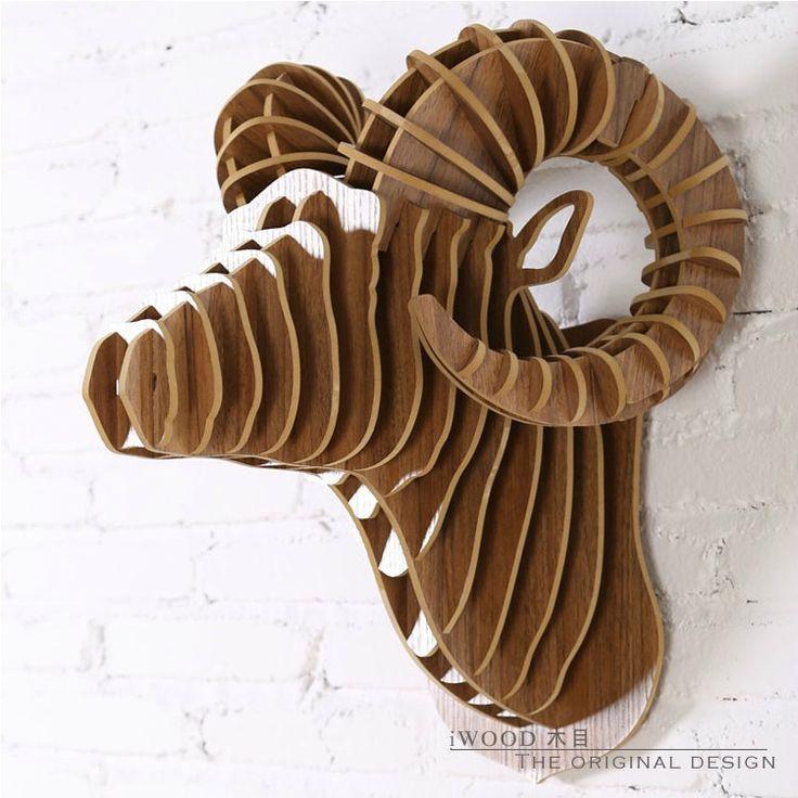 wooden ram head - Google Search