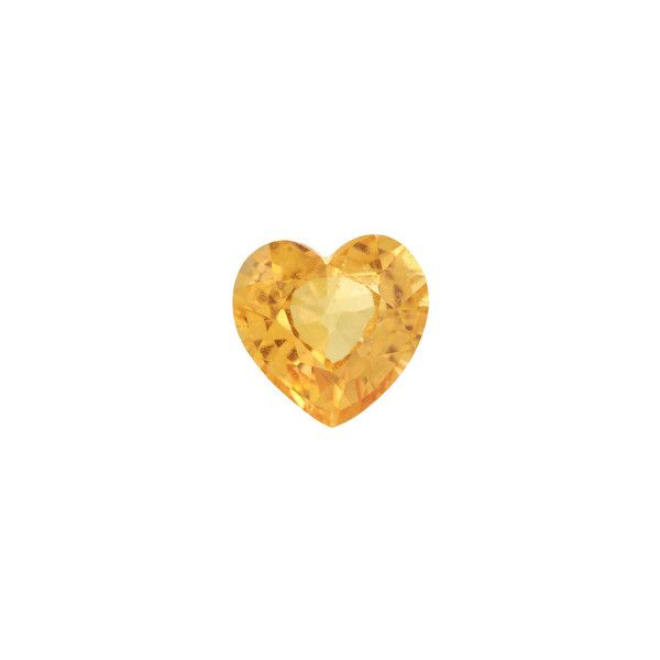 Product Details ❤ liked on Polyvore featuring hearts, gems, jewelry and yellow