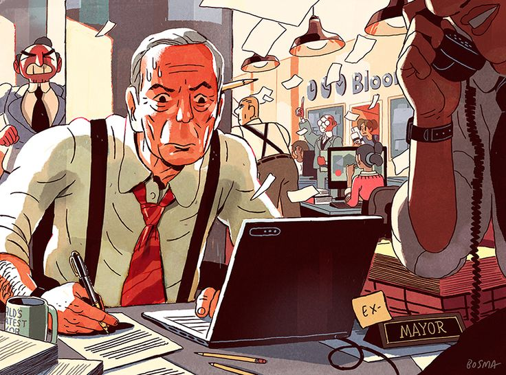 Back to Work for Bloomberg, Sam Bosma's Portfolio