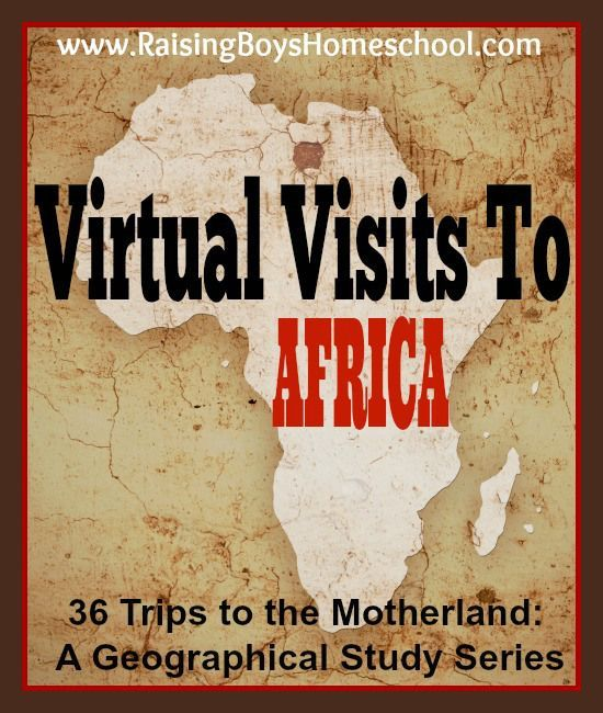Studying Africa! A list of all my posts including resources, plans, history, and all the countries as we travel through Africa. www.RaisingBoysHomeschool.com