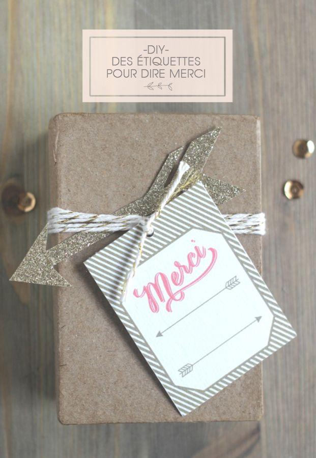 La mariee aux pieds nus - Etiquettes merci - Mister M Studio pour La mariee aux pieds nus