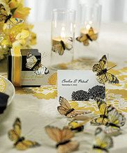 Beautiful Butterfly Decorative Set - Package Of 25