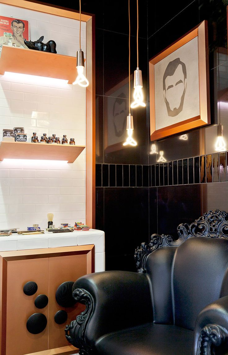 17 best ideas about barber shop interior on pinterest shop interiors industrial shelves and interior shop