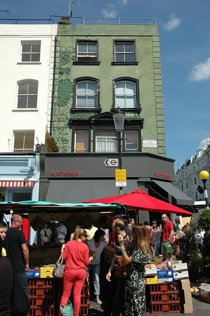 Kurt Geiger store, Portobello Road W11, Notting Hill, London