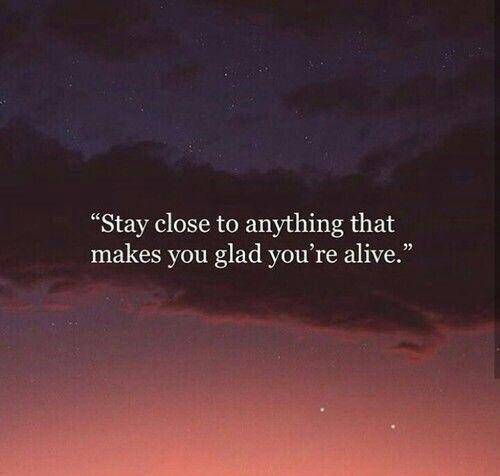 Hold it close