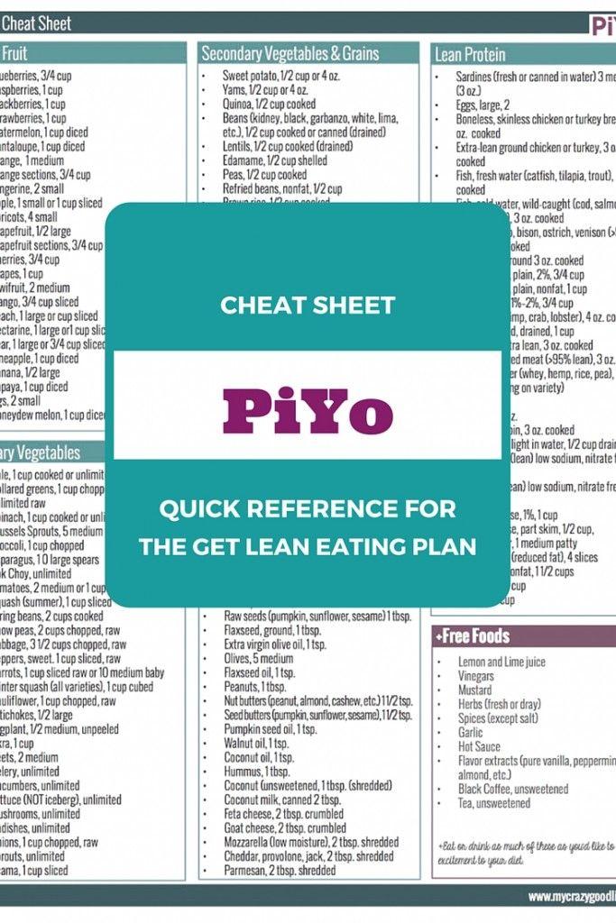 Best 25+ Piyo video ideas on Pinterest Piyo workout calendar - workout program sheet