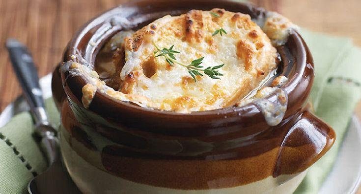 Recette : Soupe à l'oignon la meilleure