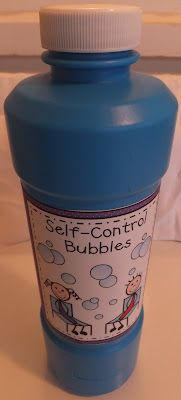 Entirely Elementary...School Counseling: Self-control bubbles