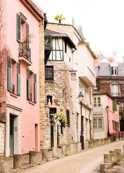 Street in Montmartre, Paris
