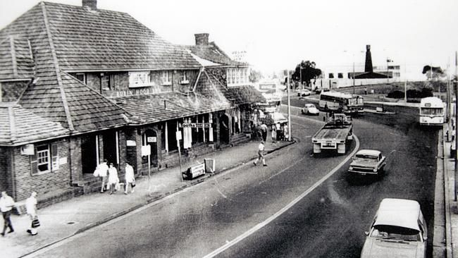 Blacktown, NSW: the Robin Hood Hotel in Main St. disappeared overnight once the developers got it.