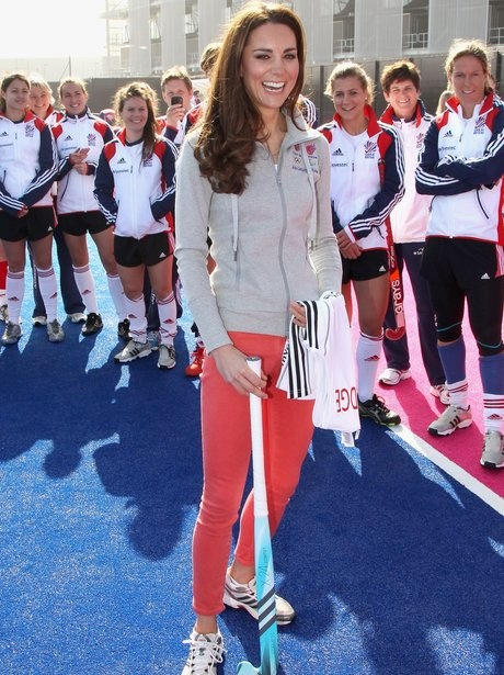 Kate Middleton, Duchess of Cambridge visits Olympic Park