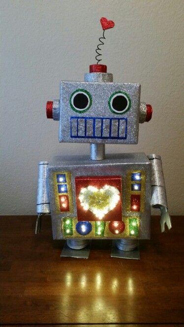 Valentine's Day Love Robot Box!