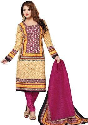 Dertaste Floral Print Kurta & Salwar - Buy Yellow, Multicolor Dertaste Floral Print Kurta & Salwar Online at Best Prices in India | Flipkart.com