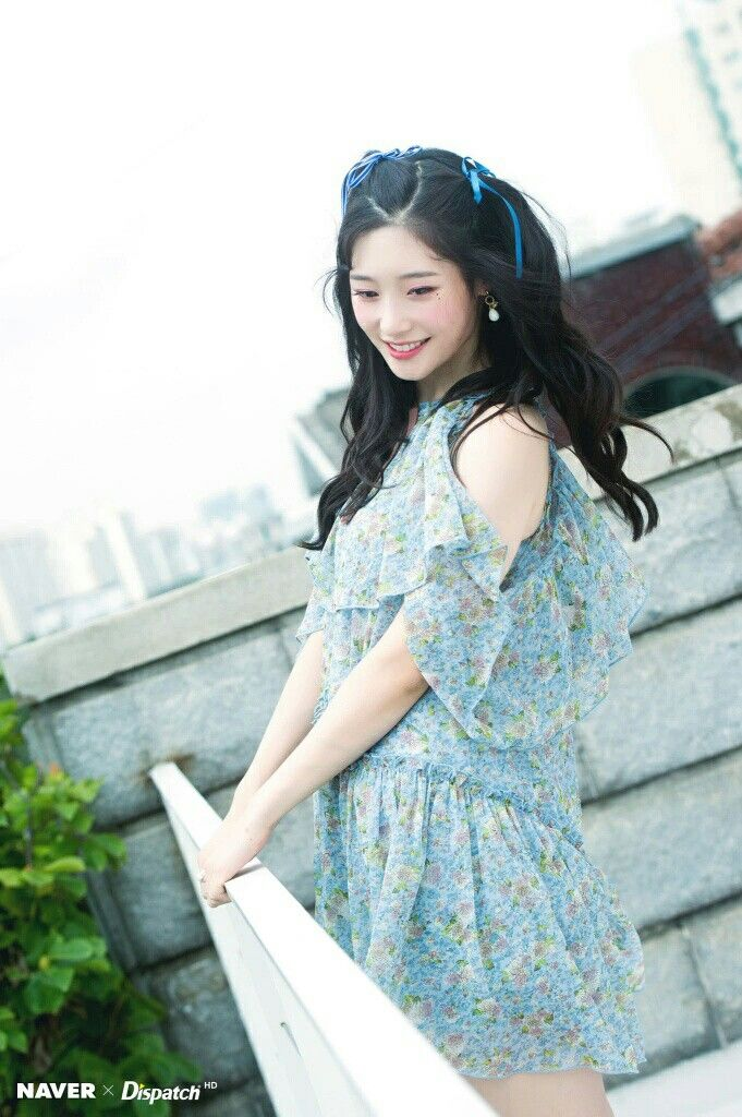 Naver X Dispatch #DIA ' I Want To Listen's MV Shooting #Chaeyeon #dia #채연