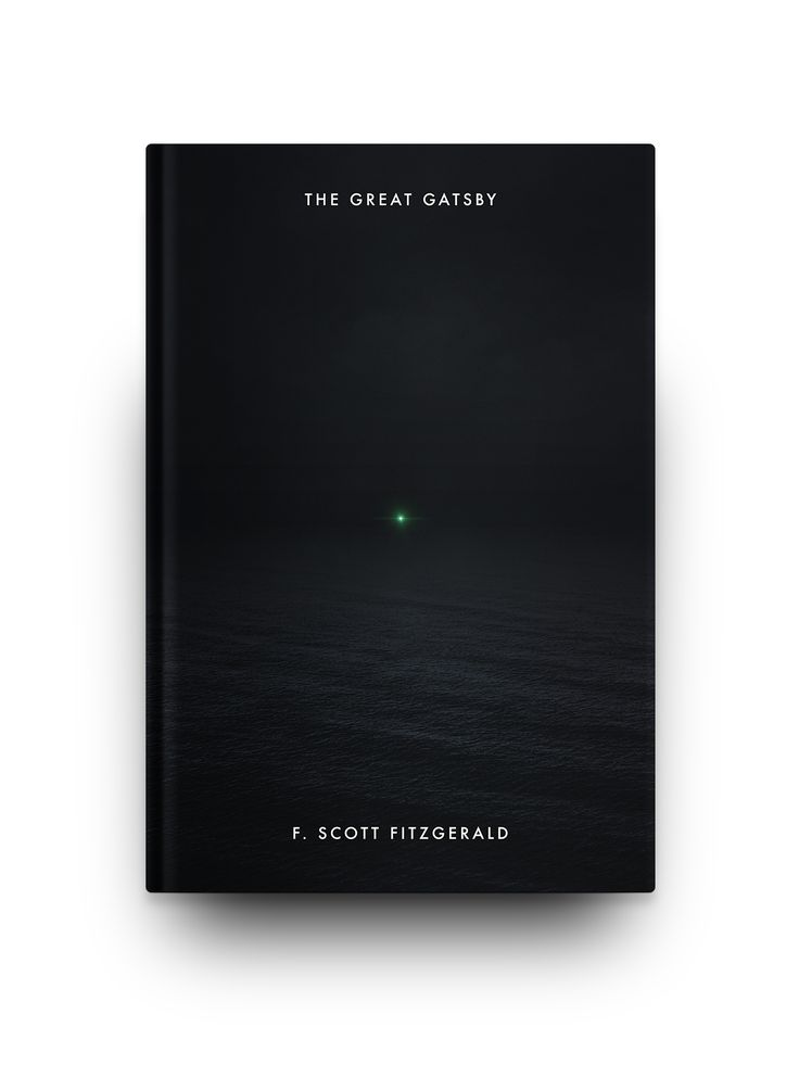 awesome book design of the great gatsby #minimal #graphics