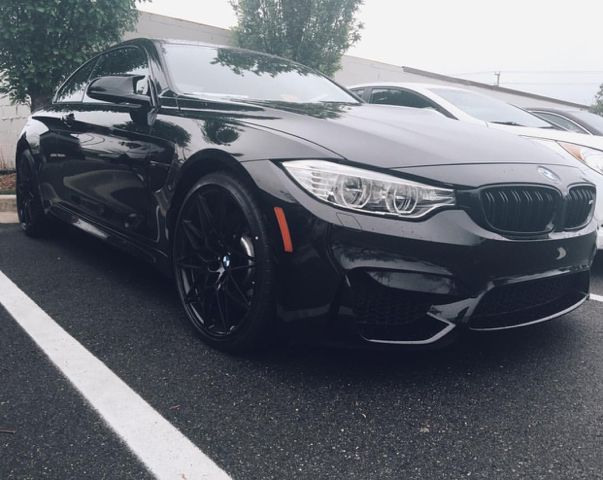 Competition Package M3 With Black Competition Package Wheels With