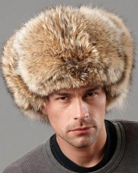 The Coyote Fur Russian Trooper Hat