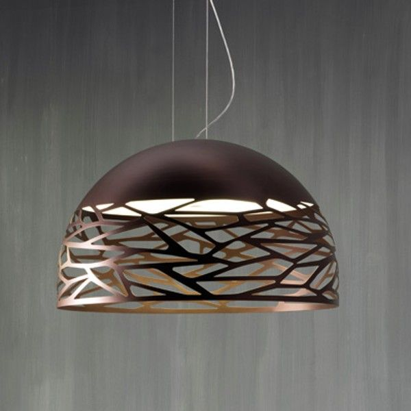 This Spherical Pendant Lamp Produces Ambient Illumination And Is Perfect  For Use In Bedrooms, Offices And Living Room Spaces. The Metal Body  Features Laser ...