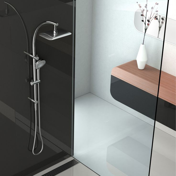 Rush Twin Shower - experience the optimum in shower experiences.