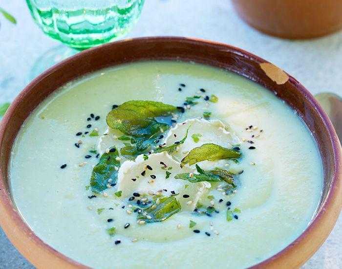 Enkel, men deilig, kremet brokkolisuppe - Tara