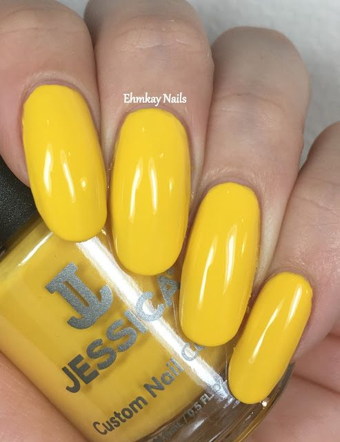 ehmkay nails: Jessica Cosmetics Prime Collection, Swatches and Review. Jessica Cosmetics Yellow