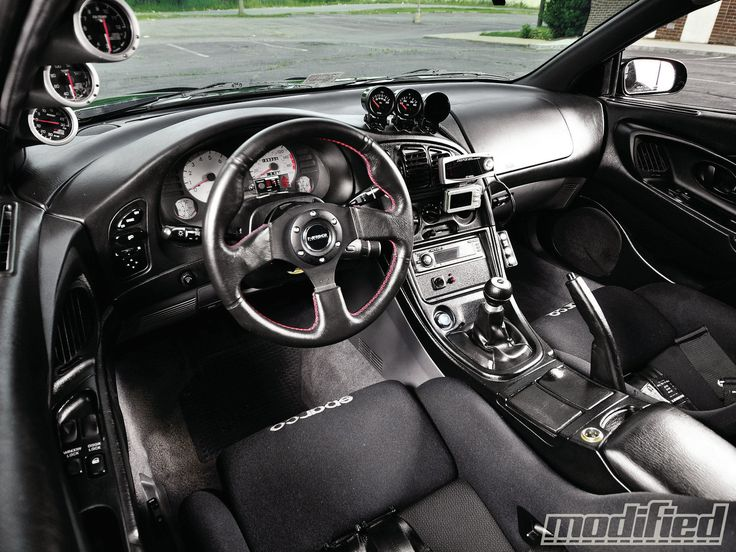 Wish my interior looked this good.  1995 Eclipse GSX.